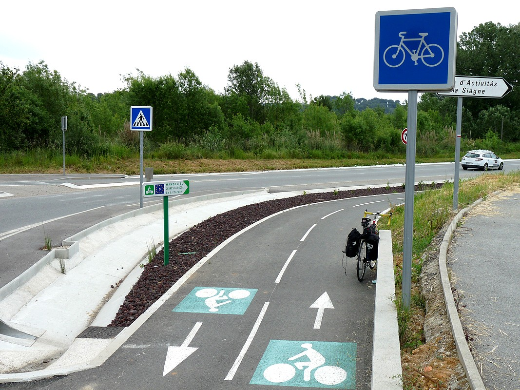 Piste cyclable EuroVelo 8