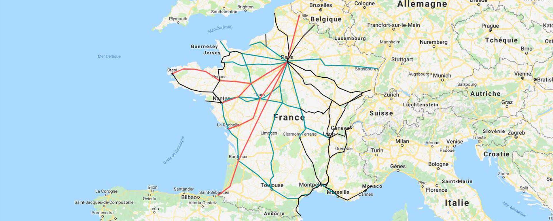 Fahrradmitnahme in den französischen Zügen